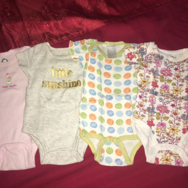 Take All !! All Branded ! Onesies Romper For Baby Girls 0-3 Months