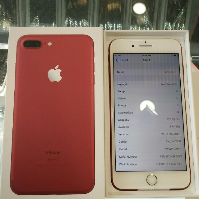 Apple iphone 7 plus 128gb, Mobile Phones & Tablets, iPhone
