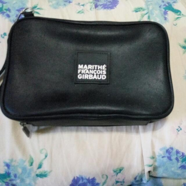 Authentic MARITHE AND FRANCOIS GIRBAUD CLUTCH BAG (fully Functional)