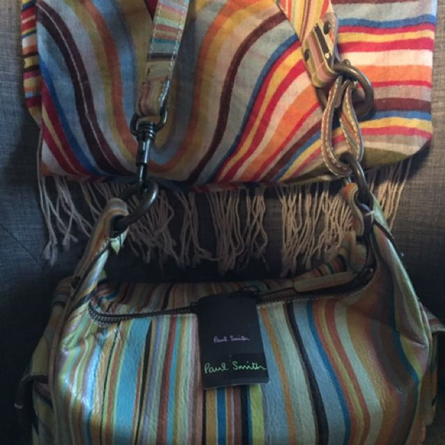 Authentic Paul Smith Bag with FREE Shawl
