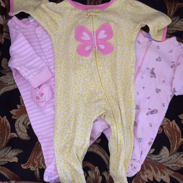 Baby Sleepers/ Overalls For Baby Girls