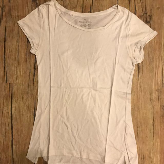 Basic T Shirt Putih Stradi