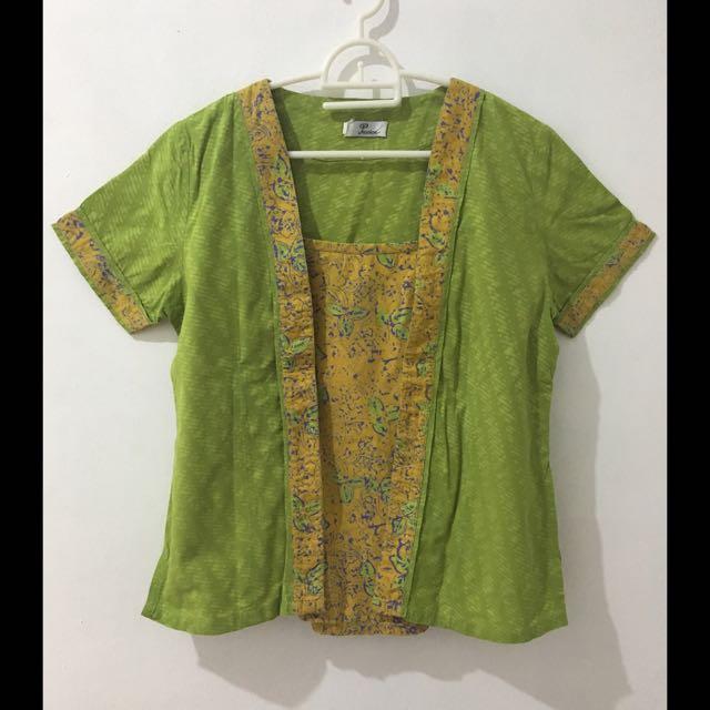 Batik Yellow Green