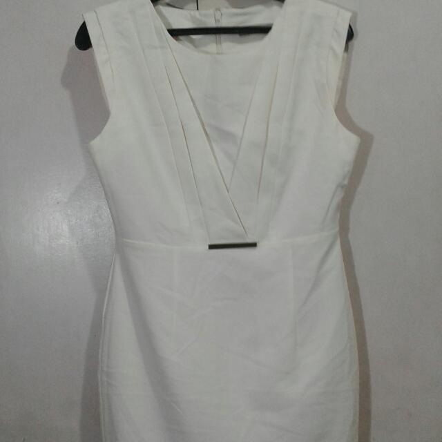 Cream  Formal Dress