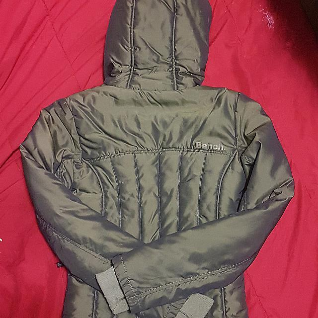 Bench Jacket Army Green