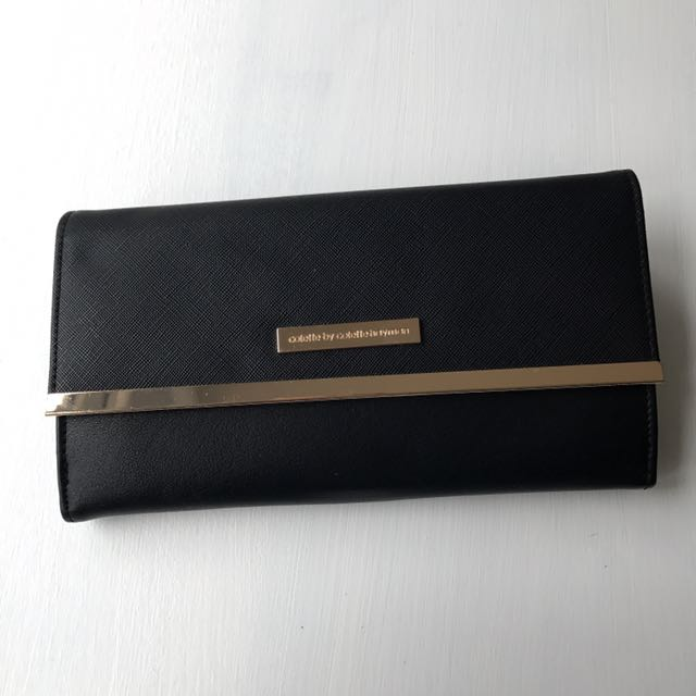 Black and Gold Colette Purse