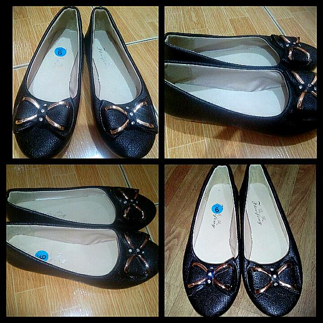 Repriced Black Dollshoes