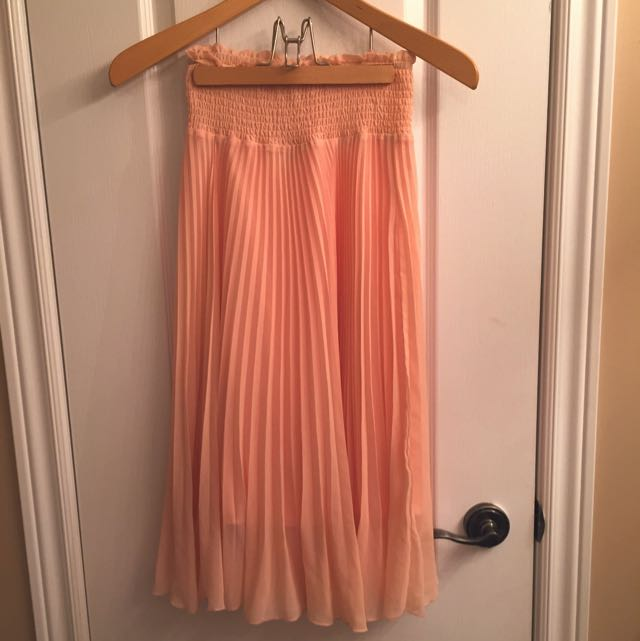 Blush Pink Wilfred Skirt (Small)