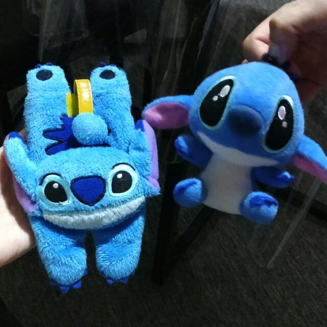 boneka stitch dan sarung hp stitch