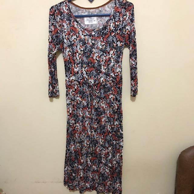 C2 Stretch Floral Dress