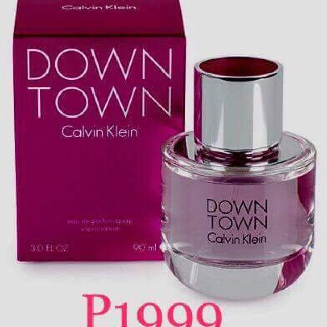 💋SALE💋Calvin Klein Down Town Eau De Parfume For Women (90ml) Pink (Authentic)