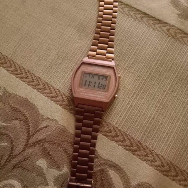 Casio Rose Gold (Auth)