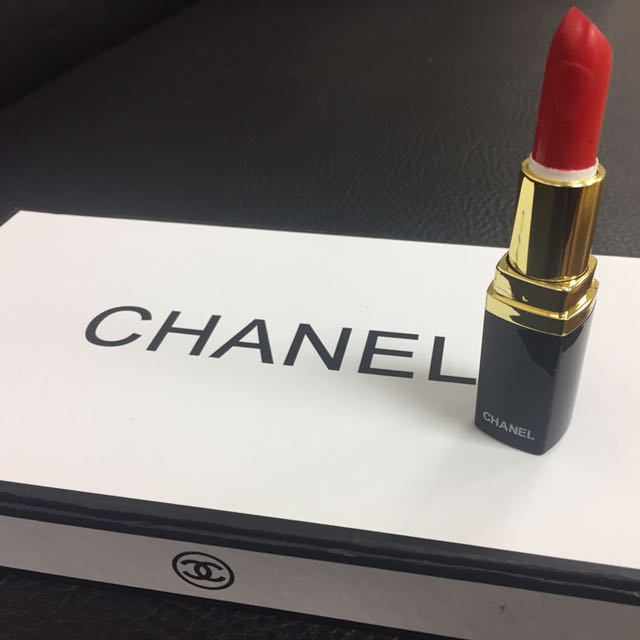 【全新】CHANEL香奈兒。 大紅色唇膏 💄
