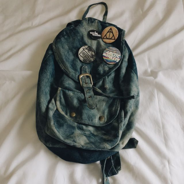 Cotton On Denim Rucksack
