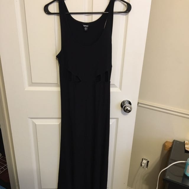 Cut Out Maxi Dress (buffalo--brand)
