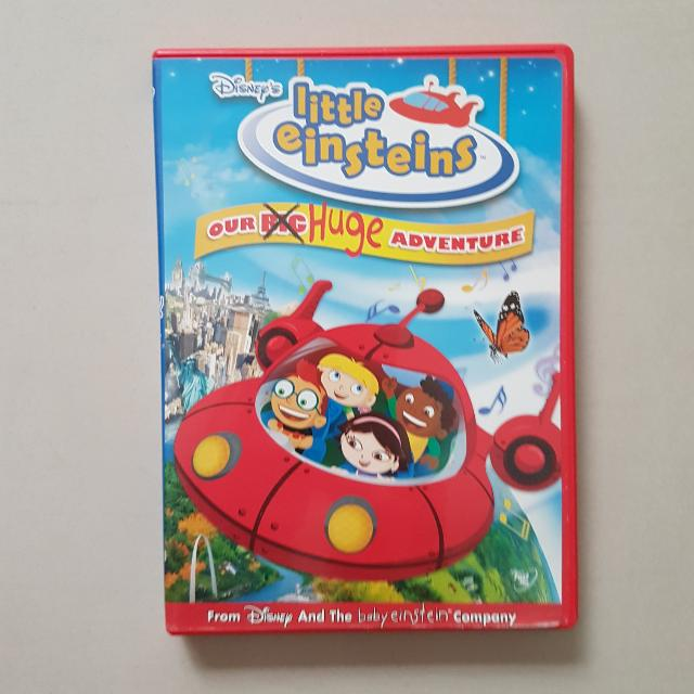 Disneys Little Einsteins Our Huge Adventure Dvd Kids Music