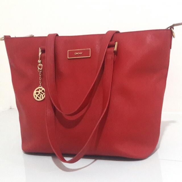 DKNY Saffiano Leather Bag