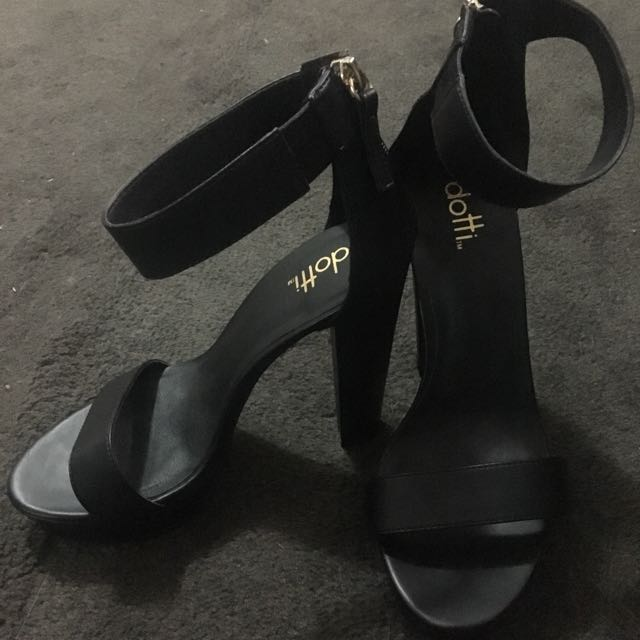 ** DISCOUNTED ** Dotti Black High Heels