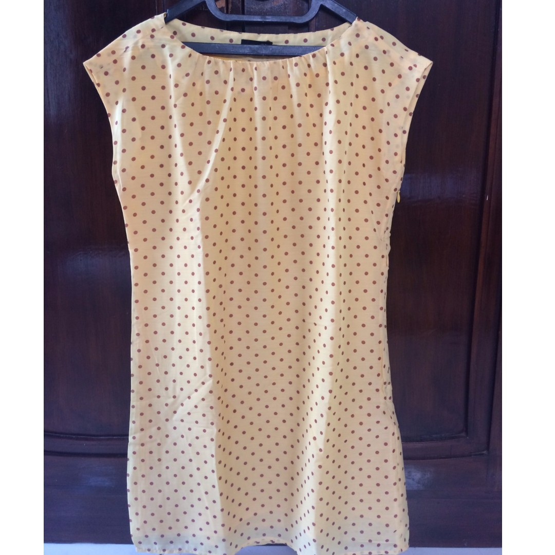 (REPRICE) The Executive Yellow Dress