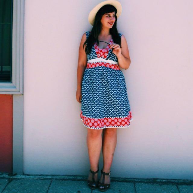 Firefly M Hippy Cotton dress