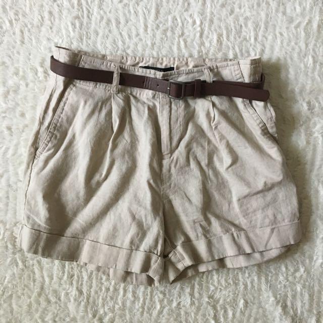 Forever 21 Higher Waist Safari Shorts