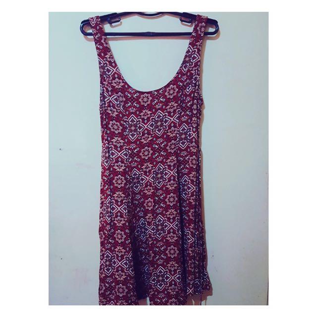 Forever 21 (Printed Dress)
