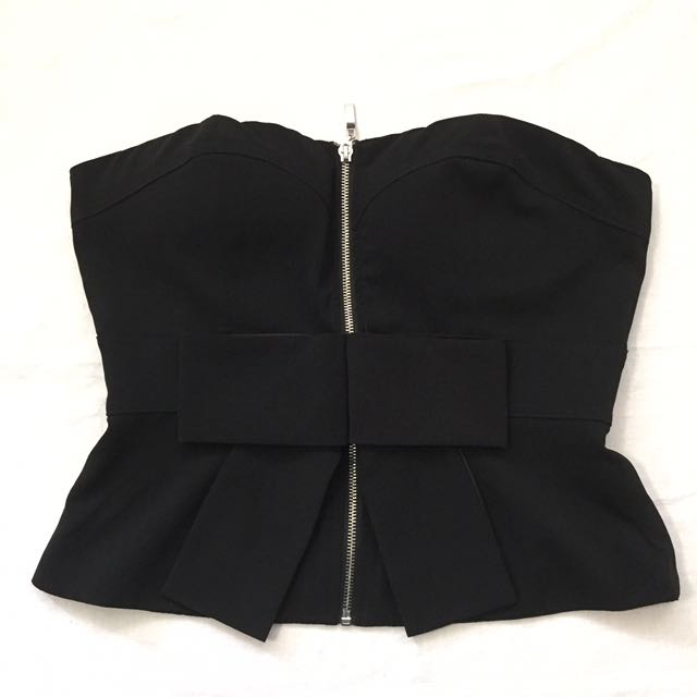 Forever 21 Strapless Top - Large