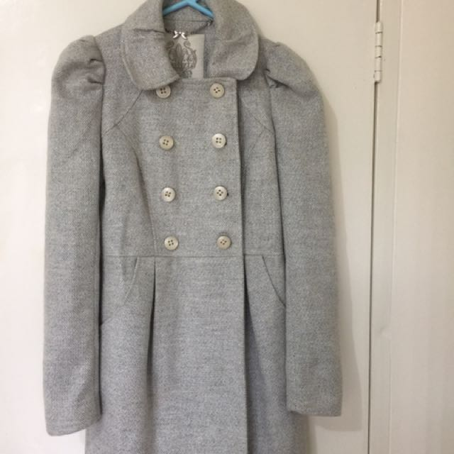 Forever New Grey Coat