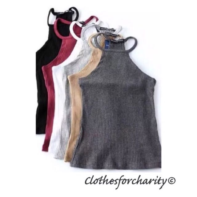 FREE POSTAGE assorted Halter tops $10.00