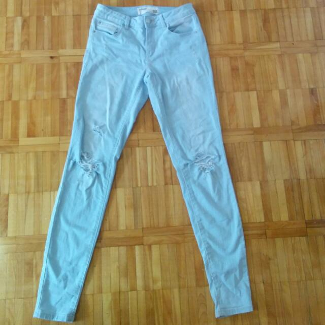 Garage Distressed Jeans