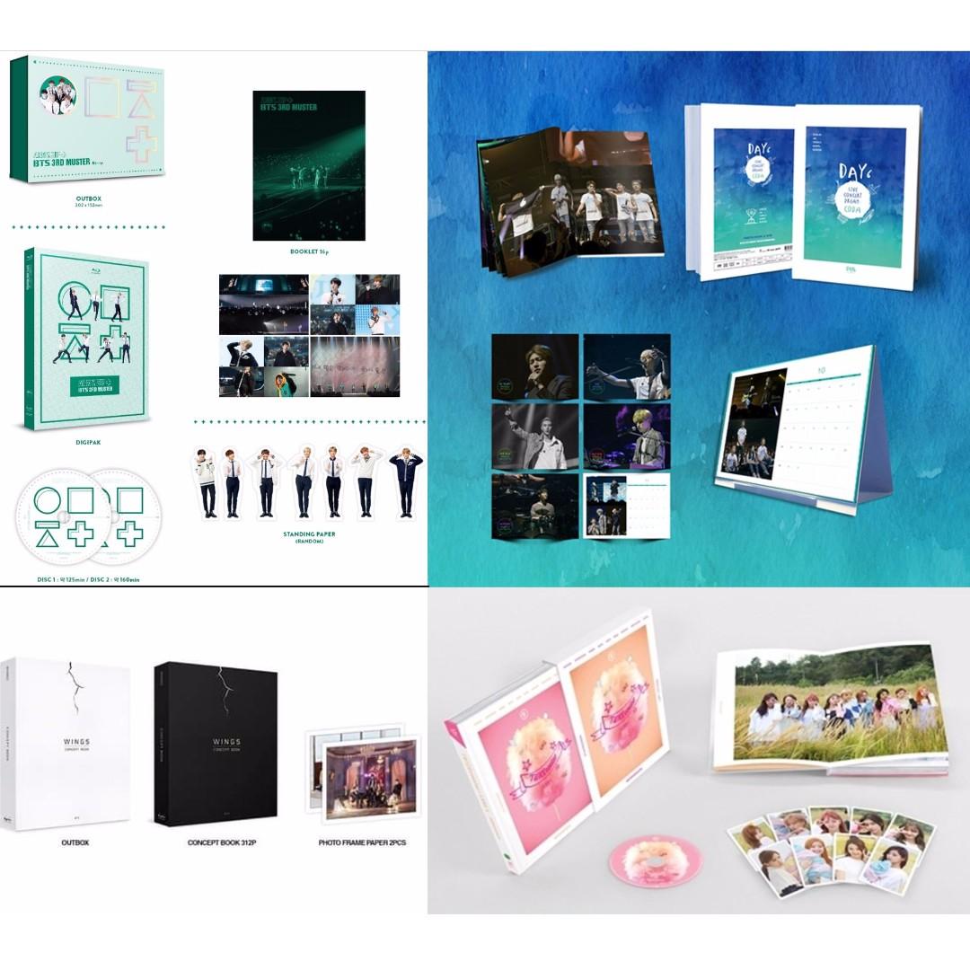 Got7, BTS & More Kpop Preorder (Monday July 3)