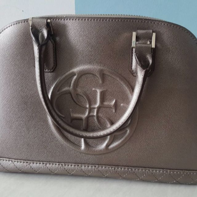 GUESS ORI Faux Leather Hand Bag