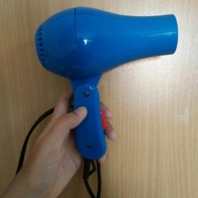 Hair dryer Mermaid Biru