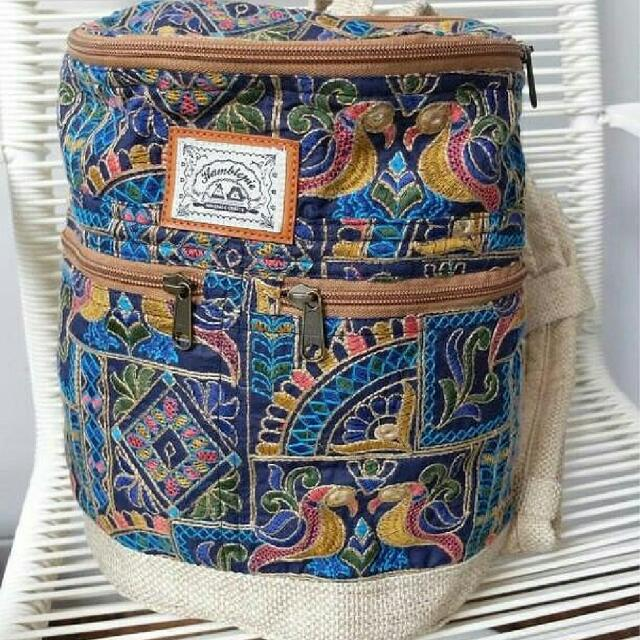HAMBLEPIE PHILIPPINES TRAVEL BAG - MINI RUCKSACK EMBROIDERED 7dde1a61612b6