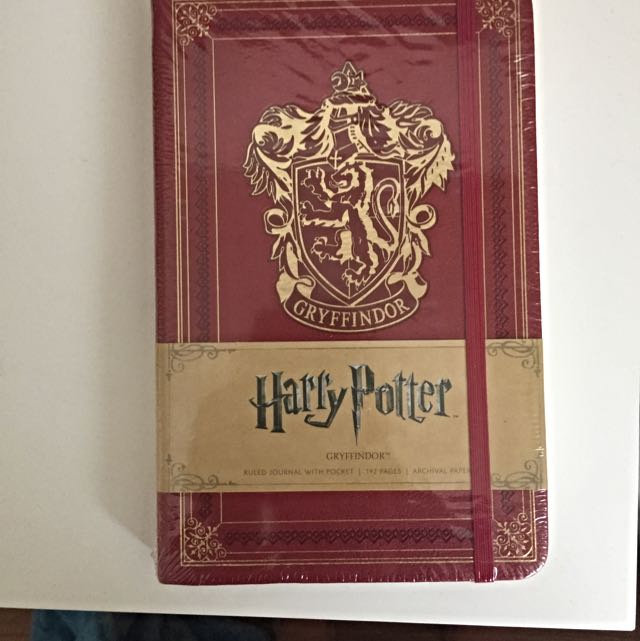 Harry Potter Gryffindor Journal
