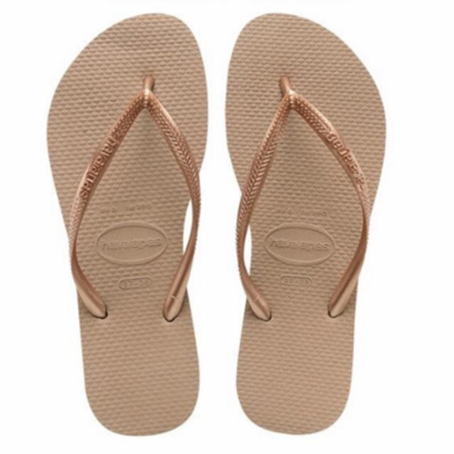 99eeae2b21f5 Havaianas Rose Gold Slippers