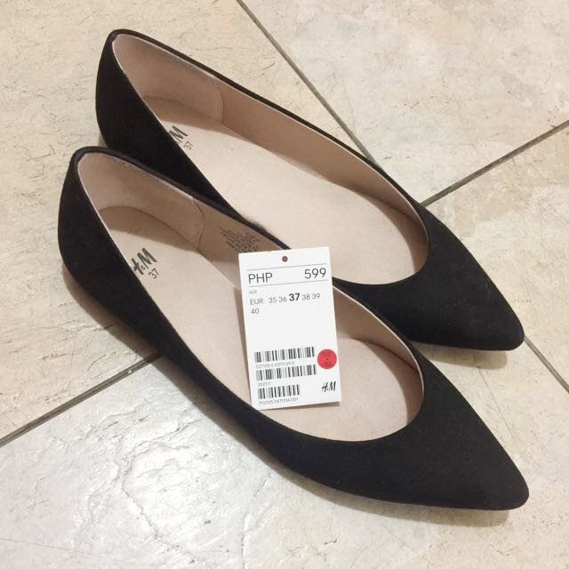 466113af7 H&M Black Doll Shoes, Women's Fashion, Shoes on Carousell