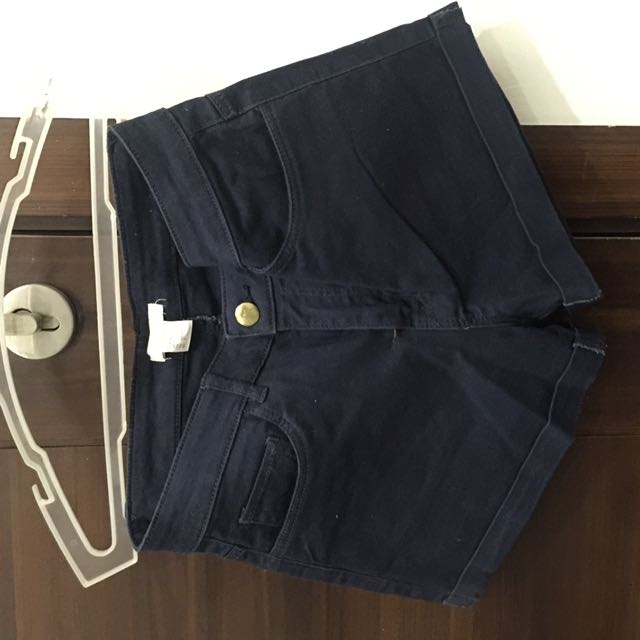 H&M Blue highwaist Shorts