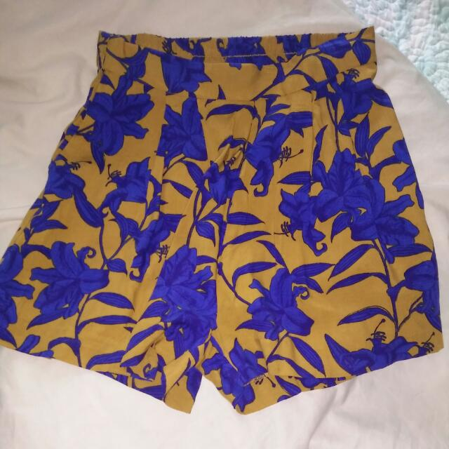 H&M Summer Floral Shorts