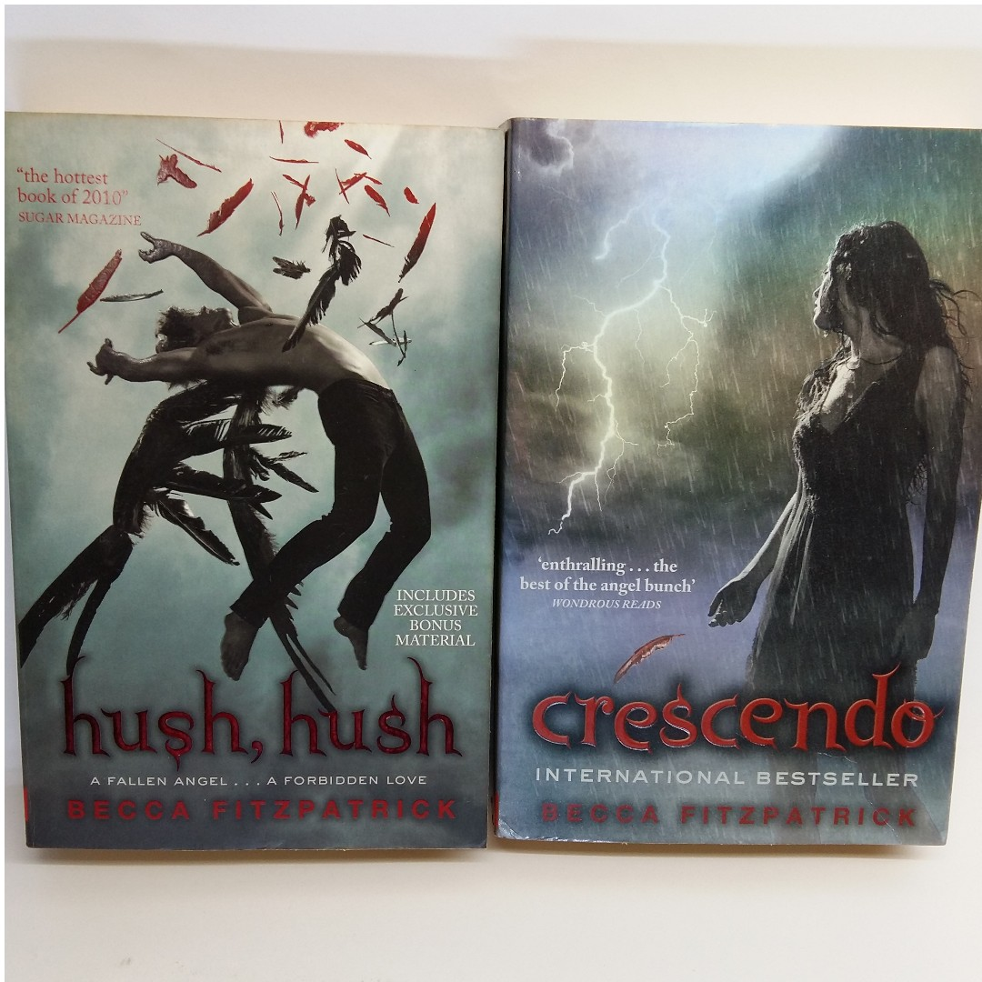 Clearance Sale Hush Hush Crescendo By Becca Fitzpatrick Bundle