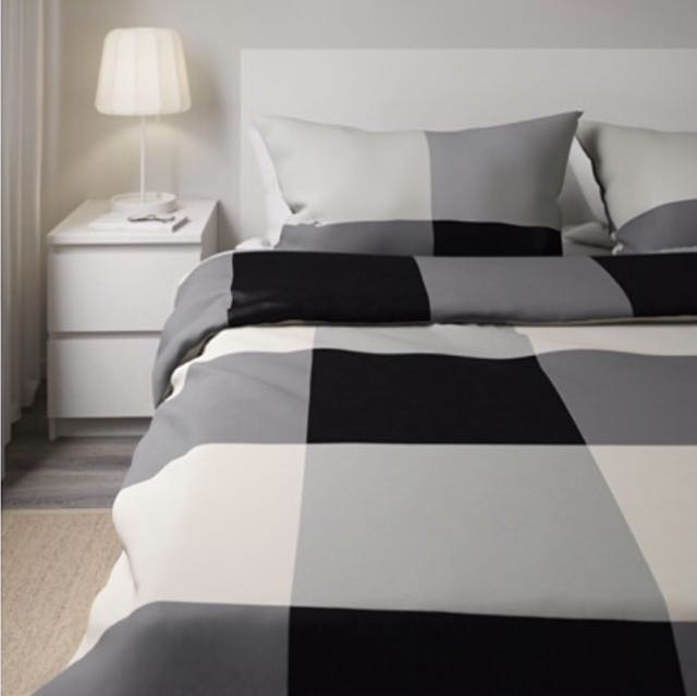 Ikea Quilt Cover Set + Fitted Sheet