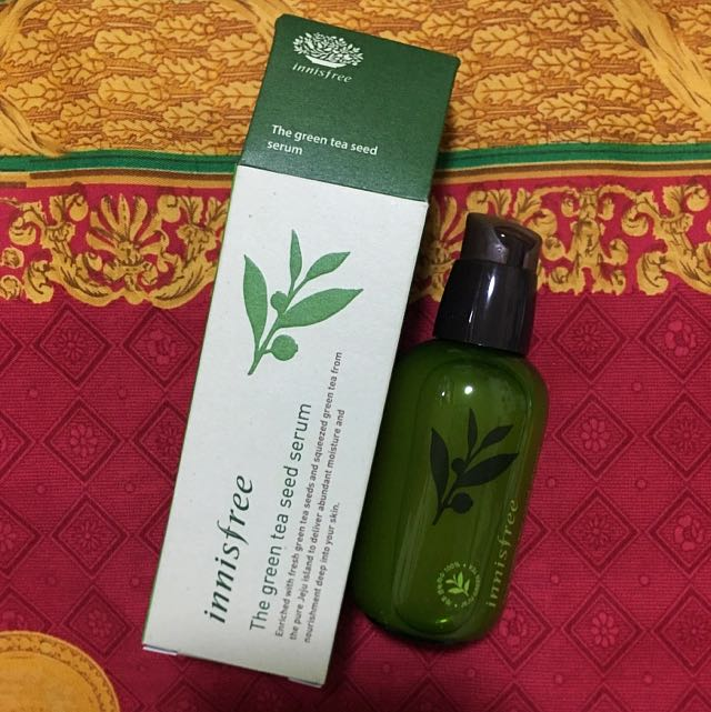 Innisfree 綠茶籽保濕精華80ml