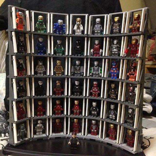 Iron Man Lego Collection