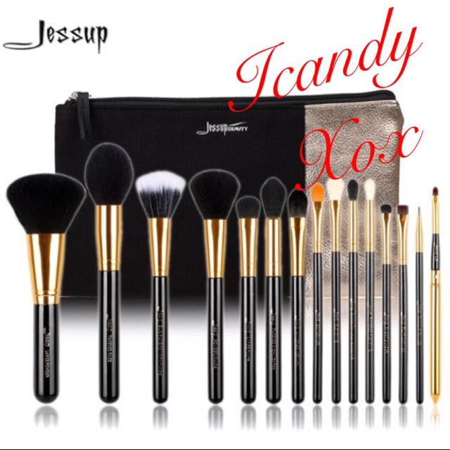 JESSUP 15pc Brush Sets