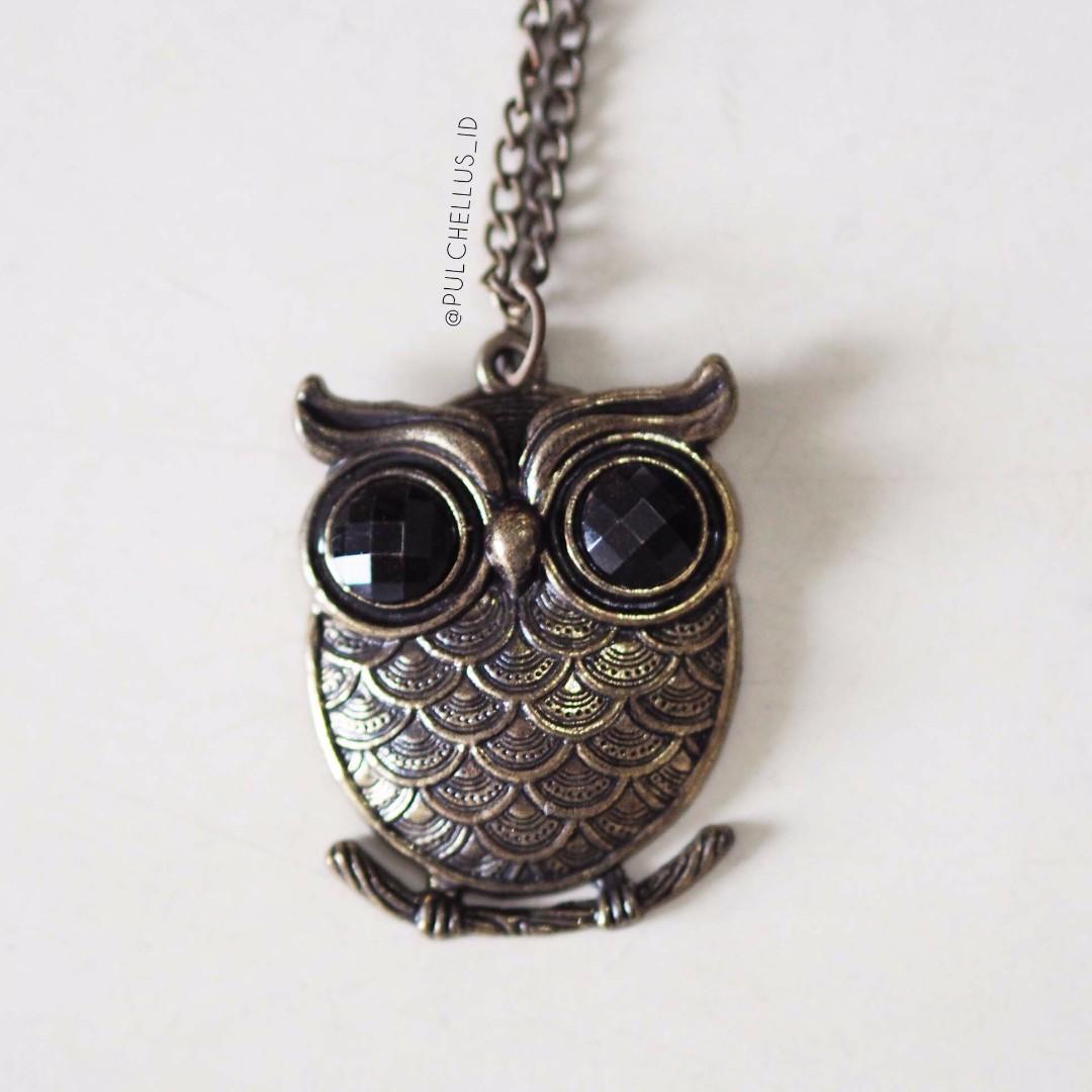 Kalung Owl (Owl Necklace) #2