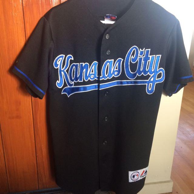 newest collection 25a05 a8337 Kansas City Royals Official MLB Baseball Jersey