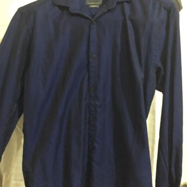 Kemeja Lengan Panjang Zara