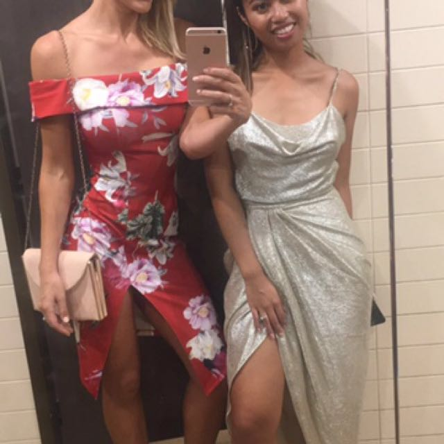 Ladies Dress Red Size 8