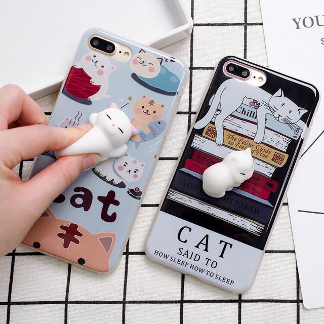 Lazy Cat Squishy Case