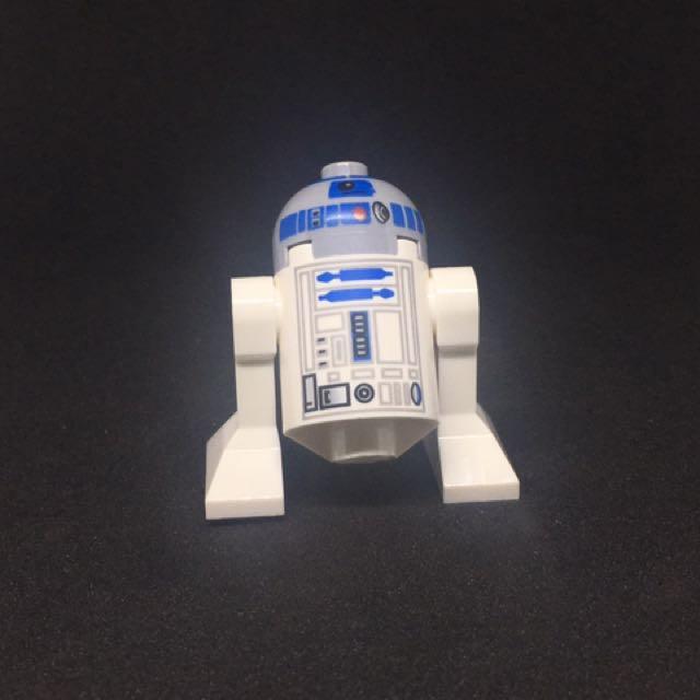Lego Star Wars R2D2 Minifigure